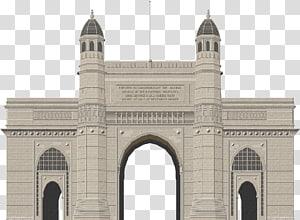 ilustração de edifício de concreto cinza, Taj Mahal Gateway da Índia India Gate Mumbai Monument, taj mahal PNG clipart