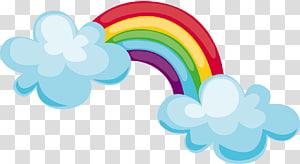 ilustração do arco-íris, gráficos escaláveis, material do arco-íris PNG clipart