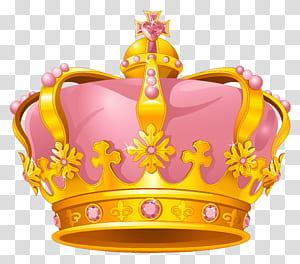 Coroa de ouro rosa, coroa de ouro rosa, rosa e ouro coroa ilustração PNG clipart