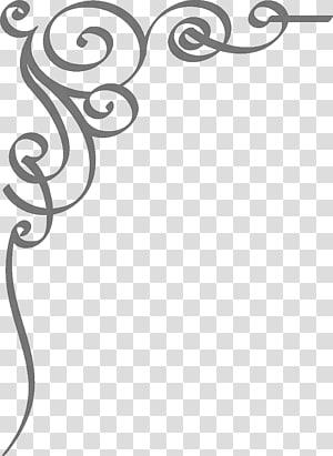 Convite de casamento, fronteira de convite de casamento, fundo cinza espiral png