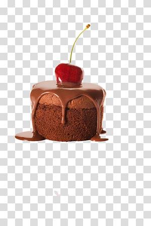 sobremesa de chocolate, bolo de chocolate, cobertura de creme de cobertura, cobertura de chocolate png