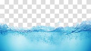 Samsung Gratis, água, água ondulada azul em close-up png