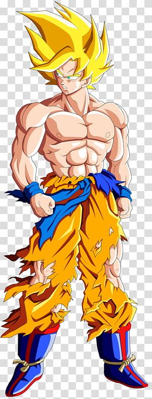 Ilustração de Goku filho, Goku Trunks Frieza Vegeta Gohan, goku png