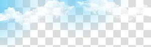 Marca céu azul durante o dia, céu ensolarado e nuvens brancas, nuvens brancas sob o céu azul PNG clipart