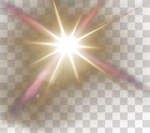Luz solar, sol, raio de sol PNG clipart