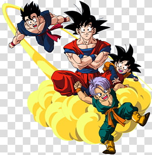 Goku Goten Gohan Troncos Vegeta, Dragon Ball png