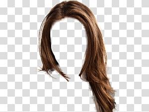 peruca marrom, penteado, cabelo de mulheres PNG clipart