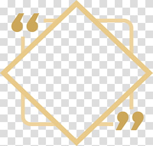 sinalização amarela, design gráfico, caixa de título de losango cáqui png