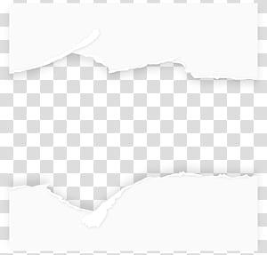 Teste padrão preto e branco, fundo de papel rasgado, pintura abstrata preto e branco PNG clipart
