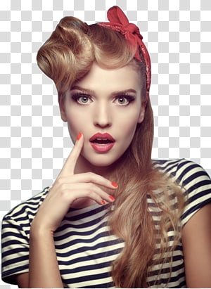 ilustração de retrato de mulher, modelo mulher, mulheres bonitas na Europa e América PNG clipart
