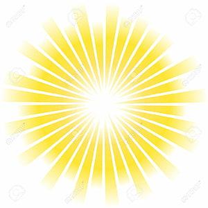 Raio de luz solar, raios de sol Pic, ilustração de raio de sol PNG clipart