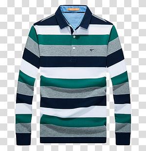 camisa polo listrada cinza, verde e branca, camiseta Polo shirt Ralph Lauren Corporation Clothing, camisa POLO PNG clipart