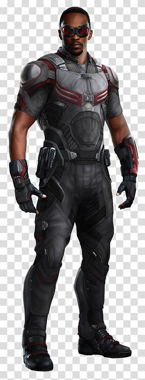 Falcão da Marvel, Anthony Mackie Visão do Falcão Capitão América Viúva Negra, falcão PNG clipart