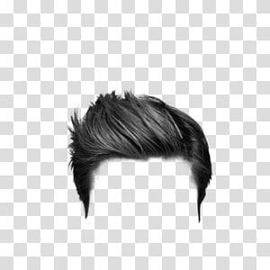 cabelo grisalho masculino, penteado PicsArt Studio Editing, cabelo PNG clipart