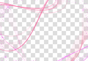 Design gráfico Padrão, roxo abstrato linhas suaves material decorativo, fundo azul e rosa PNG clipart
