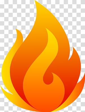 ilustração de fogo laranja e amarelo, fogo fresco chama, fogo flamejante PNG clipart