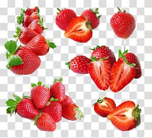 Pilha de morangos, Sorvete Suco Frutti di bosco Morango Frutas, Morango png