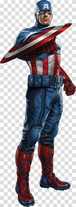 Capitão América ilustração, Capitão América Homem de Ferro Os Vingadores Marvel Cinematic Universe Superhero, capitão américa png