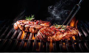Carne grelhada, Churrasqueira Chophouse restaurant Ribs Grilling Meat, grill PNG clipart