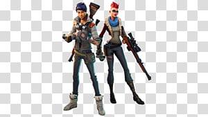 arte de dois personagens de Fortnite, Fortnite Battle Royale PlayStation 4 Vídeo game Battle royale game, Skinhead png