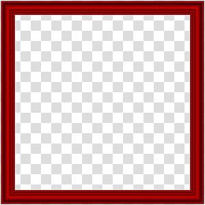 moldura vermelha, área quadrada texto jogo de tabuleiro padrão, quadro de borda vermelha PNG clipart