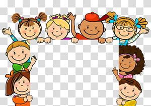 Ilustração dos desenhos animados de criança, lindos filhos, ilustração de arte dos desenhos animados de crianças PNG clipart
