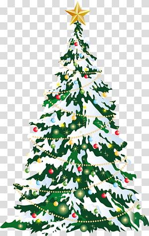 Arte grande da árvore de Natal de Deco, árvore de Natal verde png