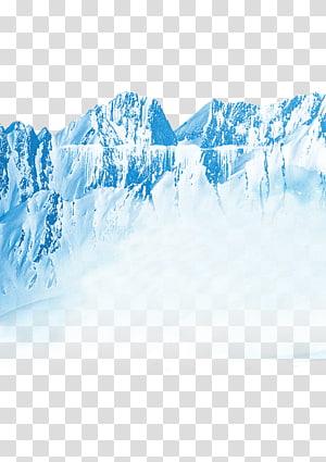 montanha de gelo, iceberg iceberg PNG clipart