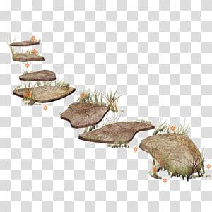 arte de lajes de rocha, edição, dedução de estrada de pedra png