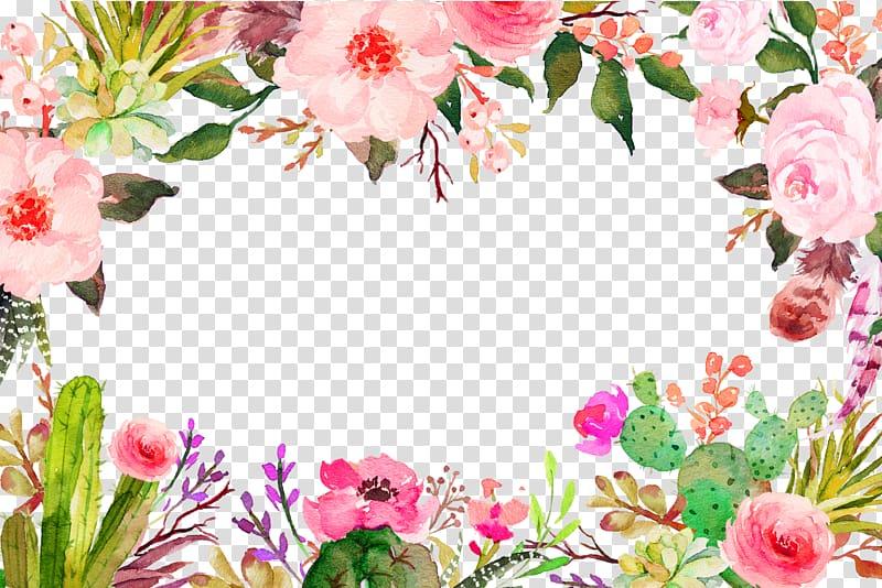 ilustração de flores cor de rosa, flor, textura de borda roxa de flores frescas png