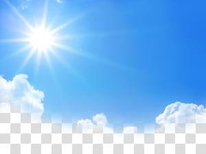 Inpaint marca d'água, céu, sol e nuvens PNG clipart