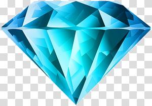 ilustração de diamante azul, diamante roxo, diamante azul PNG clipart