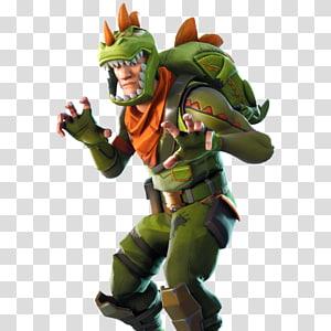 homem vestindo ilustração de fantasia de dinossauro, videogame Fortnite Battle Royale para PlayStation 4, outros png