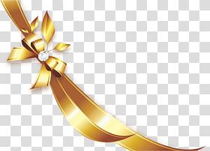 ilustração de fita de ouro, fita, fita dourada png
