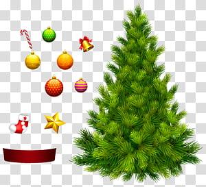 Árvore de Natal para decoração, ilustração da árvore de Natal PNG clipart