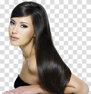 mulher vestindo blusa preta, salão de beleza penteado cuidados com os cabelos Zenred cabeleireiro Bangkok, cabelo preto PNG clipart