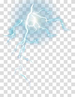 trovão, design gráfico padrão azul, relâmpagos azuis PNG clipart