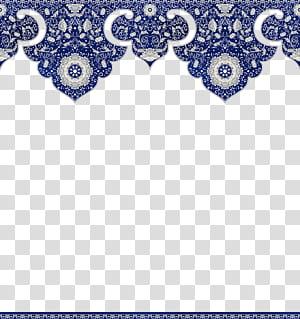 Flor azul, borda floral chinesa, ilustração de padrão floral azul e cinza png