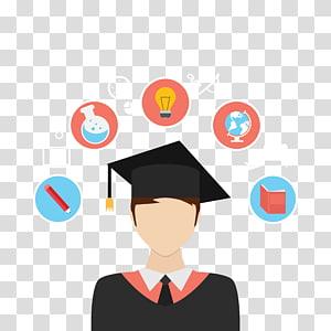 Student Learning Education, Students, ilustração de regalia acadêmica PNG clipart