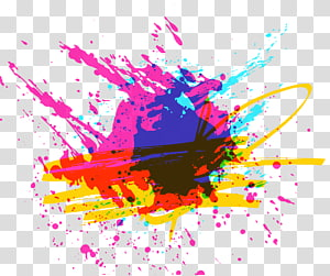 tinta multicolorida, Graffiti, Grafite pulverizado multicolorido PNG clipart