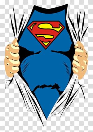 Clark Kent T-shirt Superman logo Banda desenhada americana, Superman, ilustração do Superman png
