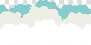 Céu azul nuvem, nuvens criativas, nuvens ilustração PNG clipart