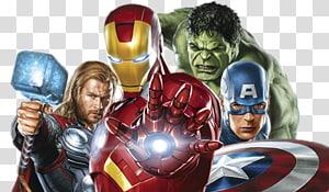Ilustração do Homem de Ferro, Capitão América Viúva Negra Clint Barton Homem de Ferro, Vingadores PNG clipart