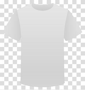 T-shirt, manga ombro, camiseta, ilustração de camiseta branca com gola PNG clipart