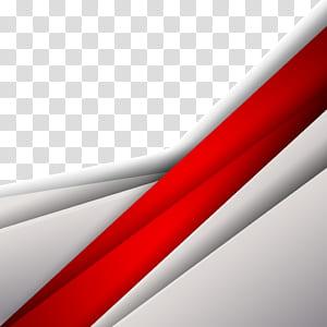 Geometria curva Forma geométrica, material de fundo de moda textura geométrica, ilustração digital vermelha e cinza png