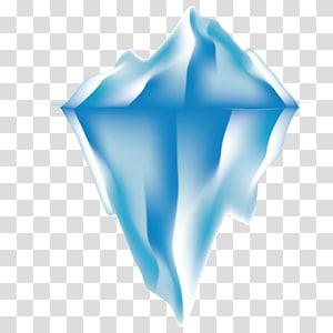 iceberg branco, iceberg, iceberg fino PNG clipart