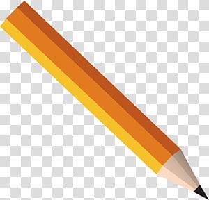 ilustração de lápis marrom, lápis, desenho de lápis PNG clipart