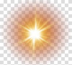 Luz solar Céu, luz solar, sol amarelo PNG clipart