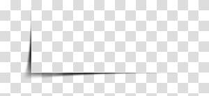 Branco preto padrão, sombra de borda criativa, caixa de papel branco PNG clipart