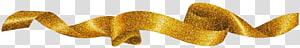 Gráficos escaláveis de ouro, fita de ouro brilhante, ilustração de fita de ouro PNG clipart